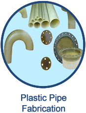 GEF can fabricate a variety of plastic pipe
