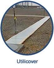 Utilicover custom built fiberglass covers provide a durable, strong barrier for a variety of environments