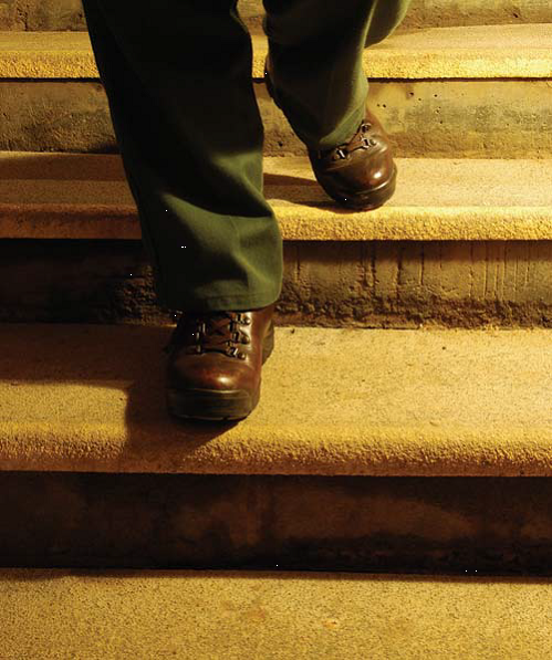GEF's stair treads provide a durable, safe surface for stairways