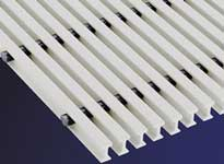 DURADEK® and DURAGRID® pultruded fiberglass grating have been tested and meet UV requirements.